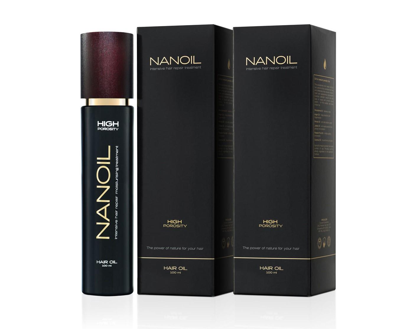 Nanoil skuteczny olejek do włosów