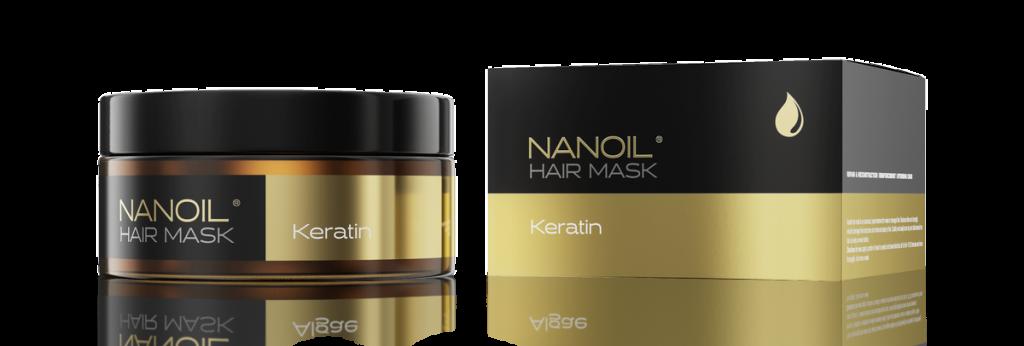 Najlepsza maska do włosów z keratyną - Nanoil Keratin Hair Mask